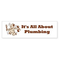 Plumber Bumper Bumper Sticker