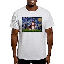 Starry / Basset Hound T-Shirt