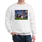 Starry / Basset Hound Sweatshirt