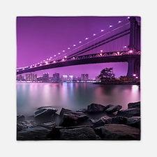 Manhattan Bridge Queen Duvet