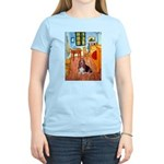 Room with a Basset Women's Light T-Shirt