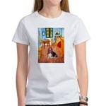 Room with a Basset Women's T-Shirt