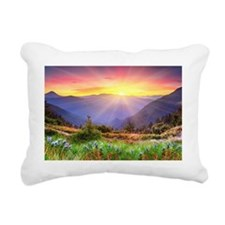 Majestic Sunset Rectangular Canvas Pillow
