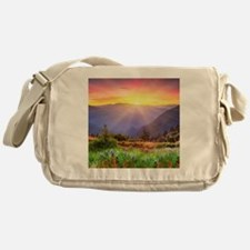 Majestic Sunset Messenger Bag
