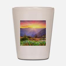 Majestic Sunset Shot Glass