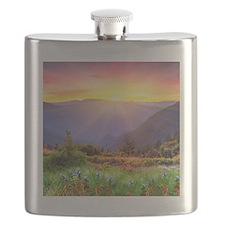 Majestic Sunset Flask