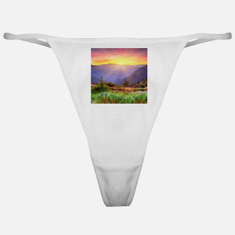Majestic Sunset Classic Thong