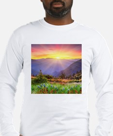 Majestic Sunset Long Sleeve T-Shirt
