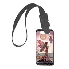 The Golden Dragon Fairy Fantasy  Luggage Tag