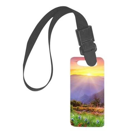 Majestic Sunset Small Luggage Tag