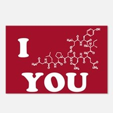 Oxytocin I Love You Postcards (Package of 8)
