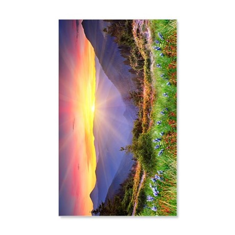 Majestic Sunset 20x12 Wall Decal