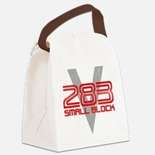 283 Small Block Canvas Lunch Bag