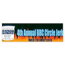 4th Annual BRC Circle Jerk Bumper Sticker