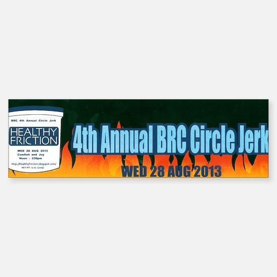 4th Annual BRC Circle Jerk Sticker (Bumper)
