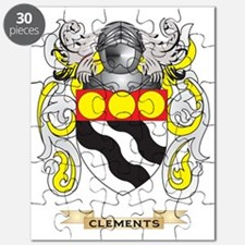Clements Coat of Arms Puzzle