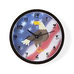 Patriotic Wall Clock