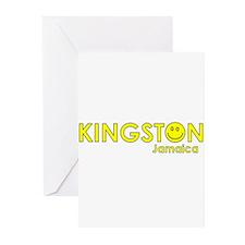 Kingston, Jamaica Greeting Cards (Pk of 10)