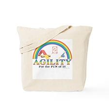 Agility Rainbow Tote Bag
