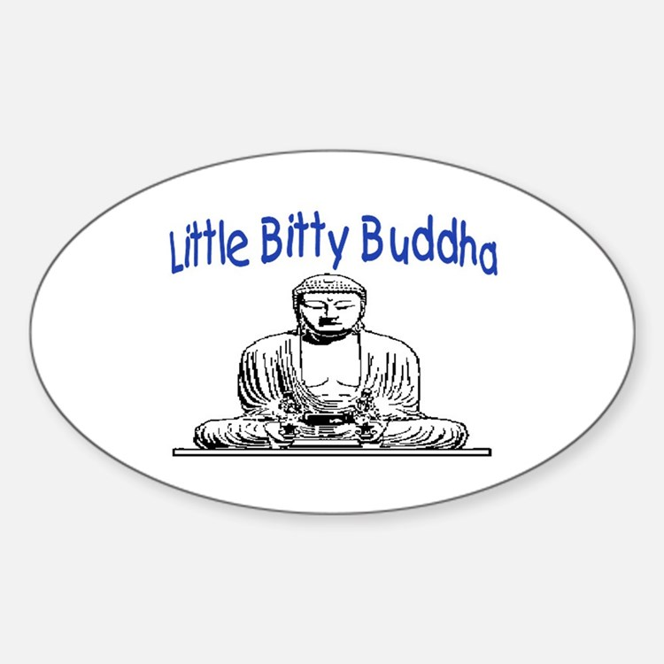 LITTLE BITTY BUDDHA Decal