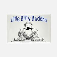 LITTLE BITTY BUDDHA Rectangle Magnet