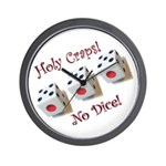 Holy Craps! Wall Clock