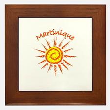 Martinique Framed Tile