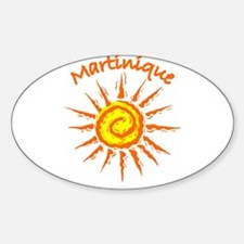 Martinique Oval Decal