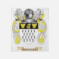 Coakley Coat of Arms Throw Blanket