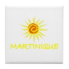 Martinique Tile Coaster
