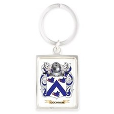 Cochran Coat of Arms Portrait Keychain
