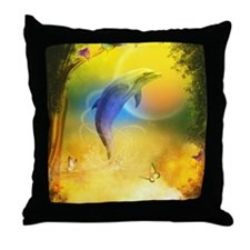 cd_Baby Blanket 1214_H_F Throw Pillow