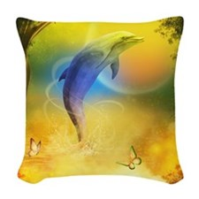cd_Baby Blanket 1214_H_F Woven Throw Pillow