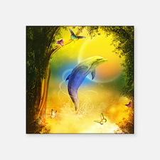 "cd_Round Tablecloth 1174_H_ Square Sticker 3"" x 3"""