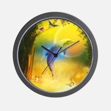 cd_Round Tablecloth 1174_H_F Wall Clock