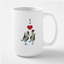 I <3 Boobies! Large Mug