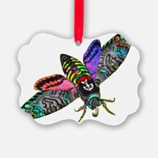 Goth Moth Ornament