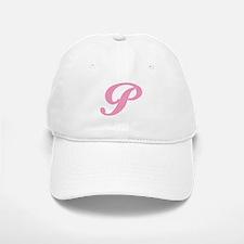 P Initial Baseball Baseball Cap