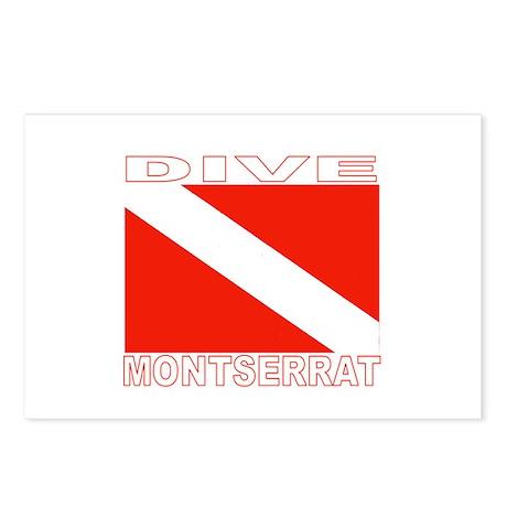 Dive Montserrat Postcards (Package of 8)