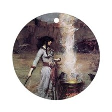Magic Circle Round Ornament