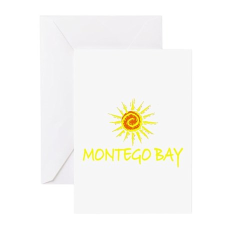 Montego Bay, Jamaica Greeting Cards (Pk of 10)
