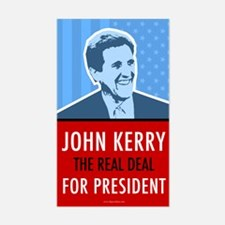 John Kerry for President, Rectangle Decal
