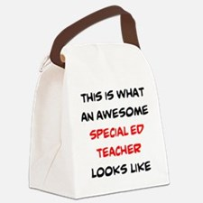 Funny Special education Canvas Lunch Bag