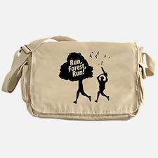 Run Forest Run   Messenger Bag