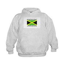 Montego Bay, Jamaica Flag Hoodie