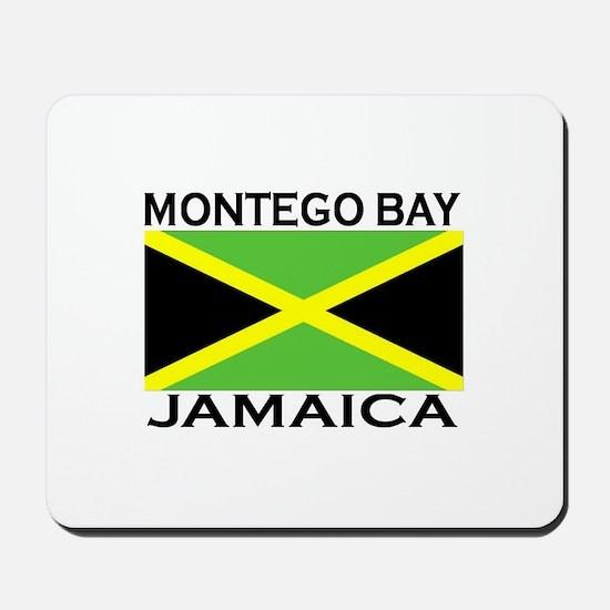 Montego Bay, Jamaica Flag Mousepad