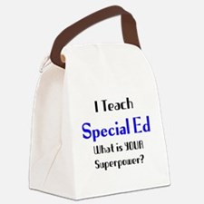 Special education Canvas Lunch Bag
