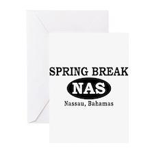 Spring Break Nassau, Bahamas Greeting Cards (Packa