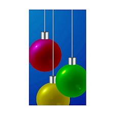 christmas bulbs Decal