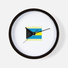 Nassau, Bahamas Wall Clock